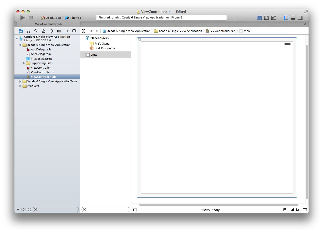 Xcode 6 Add View Controller 3